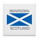 Bearsden Scotland Tile Coaster