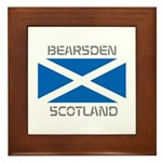 Bearsden Scotland Framed Tile