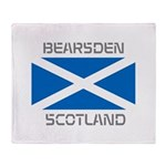 Bearsden Scotland Throw Blanket