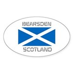Bearsden Scotland Sticker (Oval 10 pk)