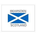 Bearsden Scotland Small Poster