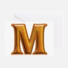 M Shiny Colors Greeting Card