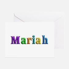 Mariah Shiny Colors Greeting Card