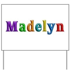 Madelyn Shiny Colors Yard Sign