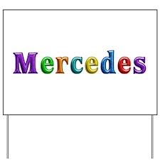 Mercedes Shiny Colors Yard Sign
