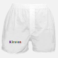 Kirsten Shiny Colors Boxer Shorts