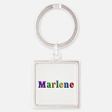 Marlene Shiny Colors Square Keychain