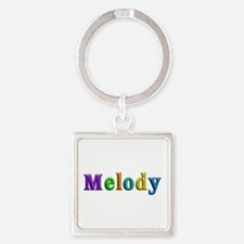 Melody Shiny Colors Square Keychain