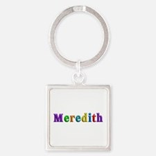 Meredith Shiny Colors Square Keychain
