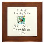 Discharge Planning Framed Tile