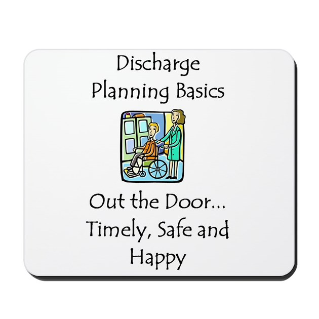 Discharge Planning Mousepad By Swgifts
