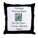 Discharge Planning Throw Pillow