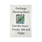 Discharge Planning Rectangle Magnet (100 pack)