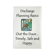 Discharge Planning Rectangle Magnet (10 pack)