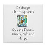 Discharge Planning Tile Coaster