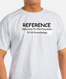 Welcome to the Fountain Ash Grey T-Shirt