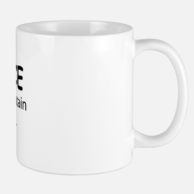 Welcome to the Fountain Mug