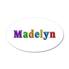 Madelyn Shiny Colors Wall Decal