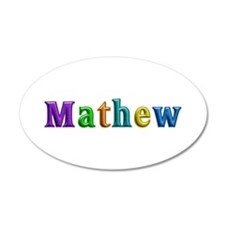 Mathew Shiny Colors Wall Decal