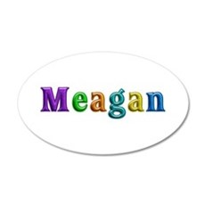 Meagan Shiny Colors Wall Decal