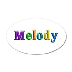 Melody Shiny Colors Wall Decal