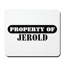 Property of Jerold Mousepad