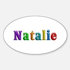 Natalie Shiny Colors Oval Decal