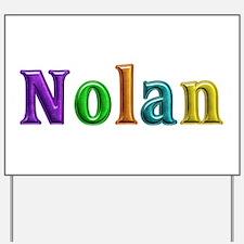 Nolan Shiny Colors Yard Sign