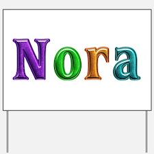 Nora Shiny Colors Yard Sign