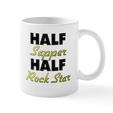 Half Sapper Half Rock Star Mugs