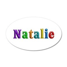 Natalie Shiny Colors Wall Decal