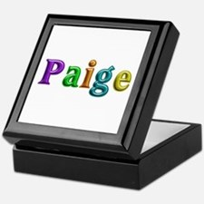 Paige Shiny Colors Keepsake Box