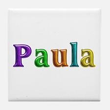 Paula Shiny Colors Tile Coaster