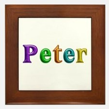 Peter Shiny Colors Framed Tile