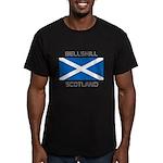 Bellshill Scotland Men's Fitted T-Shirt (dark)