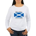 Bellshill Scotland Women's Long Sleeve T-Shirt