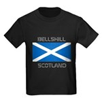 Bellshill Scotland Kids Dark T-Shirt