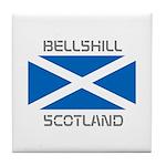 Bellshill Scotland Tile Coaster