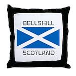 Bellshill Scotland Throw Pillow
