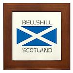 Bellshill Scotland Framed Tile