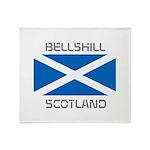 Bellshill Scotland Throw Blanket