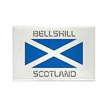 Bellshill Scotland Rectangle Magnet (100 pack)