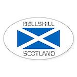 Bellshill Scotland Sticker (Oval)