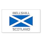 Bellshill Scotland Sticker (Rectangle 10 pk)