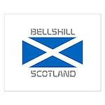 Bellshill Scotland Small Poster