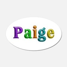 Paige Shiny Colors Wall Decal