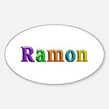 Ramon Shiny Colors Oval Decal