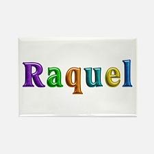 Raquel Shiny Colors Rectangle Magnet