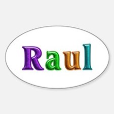 Raul Shiny Colors Oval Decal