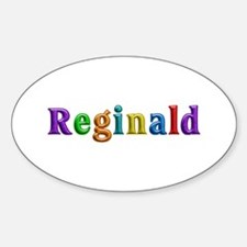 Reginald Shiny Colors Oval Decal